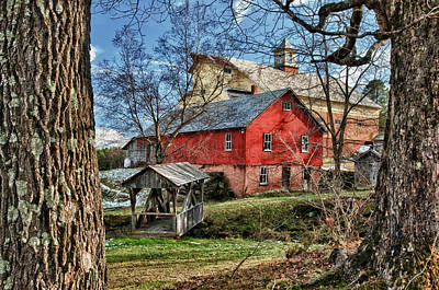 Photograph - Graves Farm No.2 by Fred LeBlanc