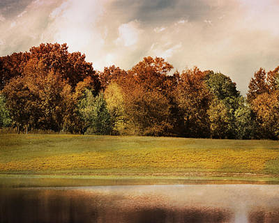 Photograph - Graves Meadow Landscape by Jai Johnson