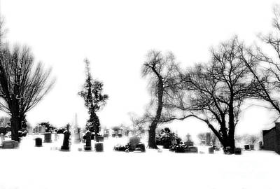Beers On Tap - Graveyard in the Snow BW by Mike Nellums