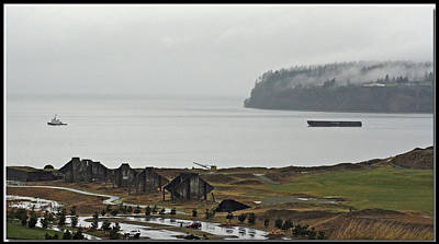 Photograph - Gray - Chambers Bay Golf Course by Chris Anderson