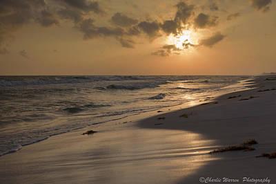 Grayton Beach Sunset Art Print by Charles Warren