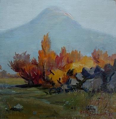 Grate Painting - Great Ararat by Gegham Asatryan