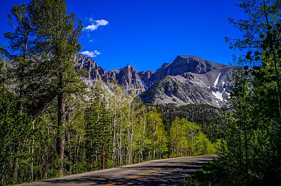 Wheeler Photograph - Great Basin National Park Wheeler Peak by Scott McGuire