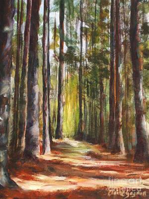 Great Brook Farm Summer Path Art Print