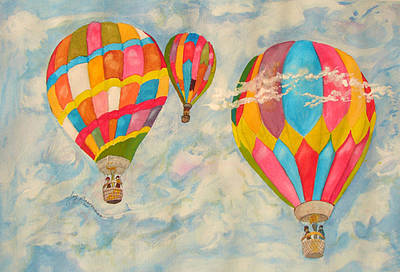 Painting - Great Day To Fly by Joy Braverman
