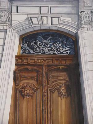 Great Door Art Print by Emmanuel Turner