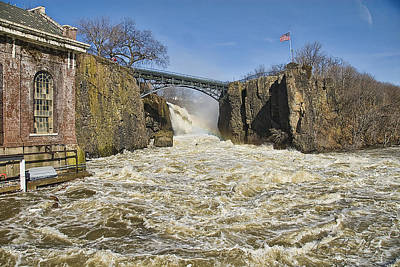 Great Falls Of Paterson    Art Print