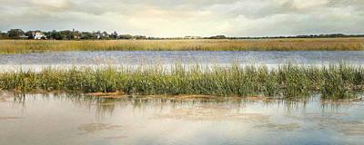 Art Print featuring the photograph Great Marsh by Karen Lynch