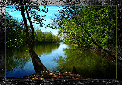 Photograph - Great Miami River -a by Robert Clayton