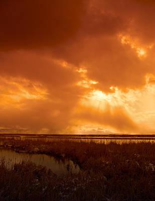 Photograph - Great Salt Lake Utah Usa by Douglas Pulsipher