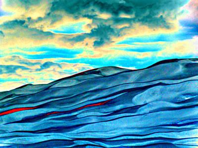 Great Sand Dunes Art Print by Daniel Dodd
