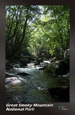 Great Smoky Mountains Np 001 Art Print by Charles Fox