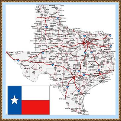 Great State Of Texas Original