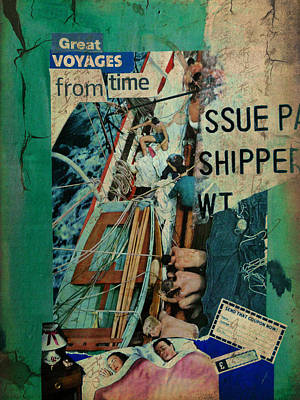 Great Voyages From Time Art Print by Adam Kissel
