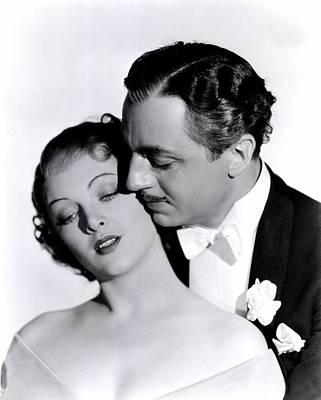 Great Ziegfeld, Myrna Loy, William Art Print