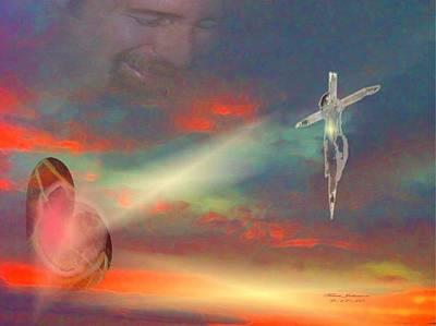 Faith Digital Art - Greatest Love by Terri Johnson