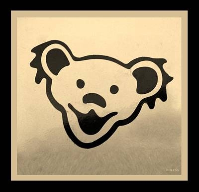 Photograph - Greatful Dead Dancing Bears In Sepia by Rob Hans