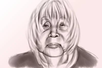 Etc. Digital Art - Greatgrandmother by Quinetta Middlebrooks