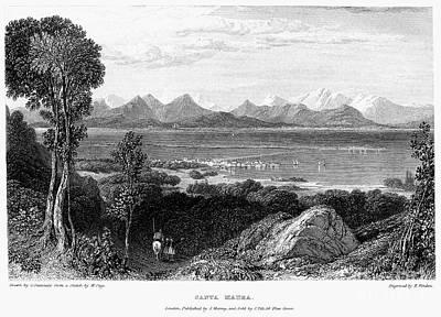 Lefkada Photograph - Greece: Levkas, 1832 by Granger