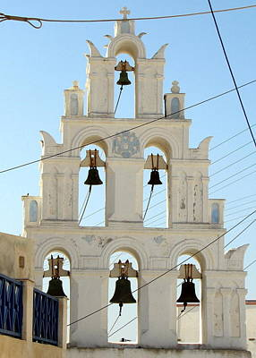 Photograph - Greek Church Bells by Carla Parris