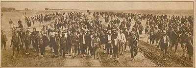 Greek Refugees Were Forced Art Print by Everett