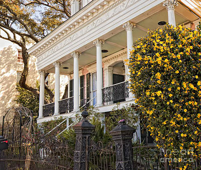 Photograph - Greek Revival And The Tiny Pink Shoe - Garden District New Orleans by Kathleen K Parker