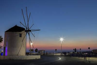 Cyclades Photograph - greek windmill - Cyclades by Joana Kruse