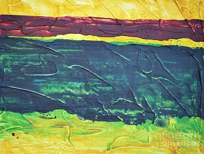 Green Canyon Art Print