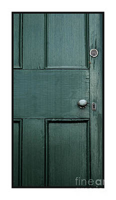 Photograph - Green Door Circ 1700 by Margie Avellino
