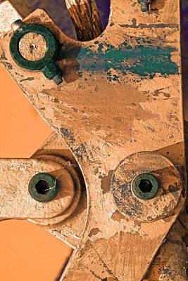 Green Eyes Art Print by Marcia Lee Jones