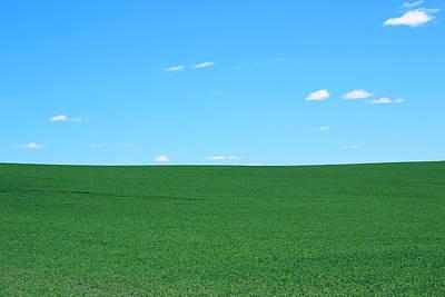 Green Field Blue Sky Original