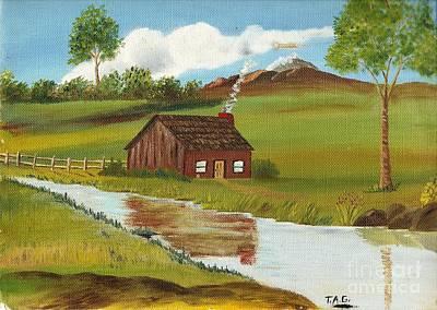 Green Grass Of Home Art Print