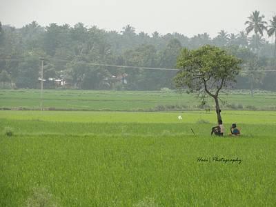 Green Art Print by Hari Ram