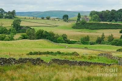 Green Hills Of Galloway Art Print by John Kelly
