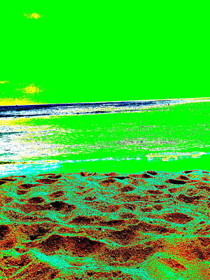Photograph - Green Kaimana by Erika Swartzkopf