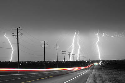 Photograph - Green Light Into The Storm by James BO Insogna
