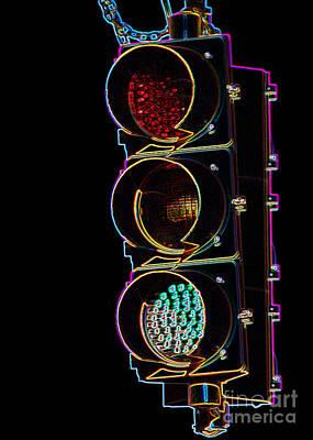 Photograph - Green Light by Susan Stevenson