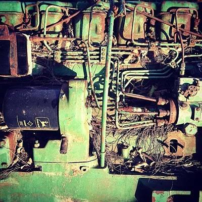 Machine Photograph - Green Machine by Arturo Peniche