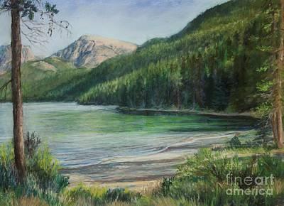 Pastel - Green River Lake by Susan Driver