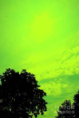 Mike Grubb Wall Art - Photograph - Green Sky 2 by Michael Grubb