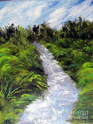 Painting - Green Spaces by Cynthia Parsons