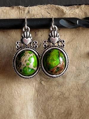 Estate Jewelry Jewelry - Green Turqoise by Jan Brieger-Scranton
