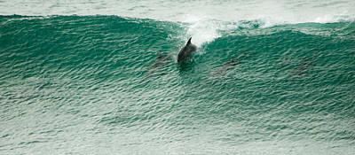 Thomas Kinkade - Green wave 2 by Alistair Lyne