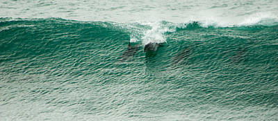 Photograph - Green Wave by Alistair Lyne