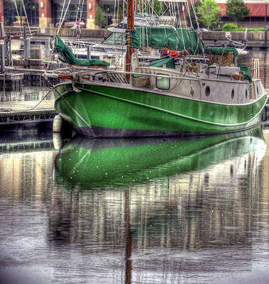 Green With Envy Art Print by Brian Fisher