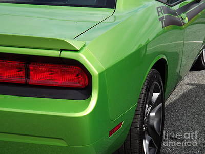 Green With Envy Art Print by Chad Thompson