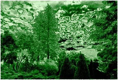 Green Zone Art Print by Will Borden