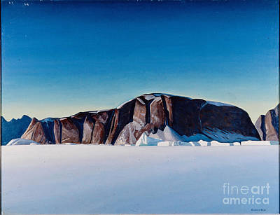 Greenland Coast Art Print by Kent Rockwell