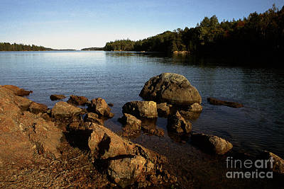 Greenlaw Cove Deer Isle Maine Art Print by Thomas R Fletcher