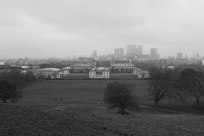 Photograph - Greenwich View by Maj Seda